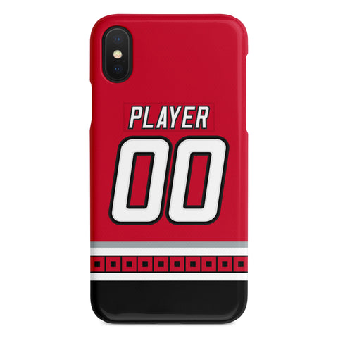 Carolina Hurricanes 00-07 Home Jersey Phone Case
