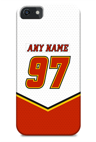 Calgary Flames 03-06 Away Jersey Phone Case