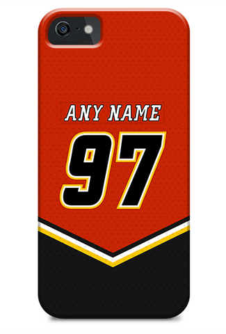 Calgary Flames 03-06 Home Jersey Phone Case