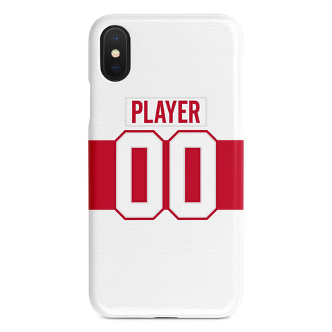 Detroit Red Wings 2009 Winter Classic Jersey Phone Case