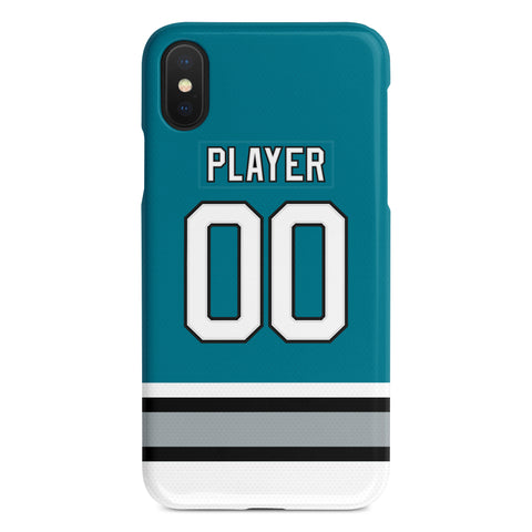 San Jose Sharks 91-97 Away Jersey Phone Case