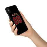 Arizona Diamondbacks Black Alternate Jersey Phone Case