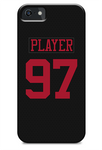 San Francisco 49ers Alternate Jersey Phone Case
