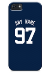 San Diego Padres Custom Blue Alternate Jersey Phone Case