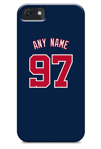 Washington Nationals Custom Blue Alternate Jersey Phone Case