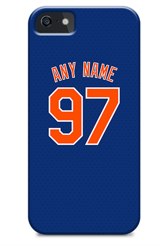 New York Mets Custom Blue Alternate Jersey Phone Case