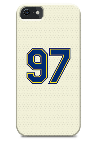 Seattle Mariners Custom Vintage Alternate Jersey Phone Case