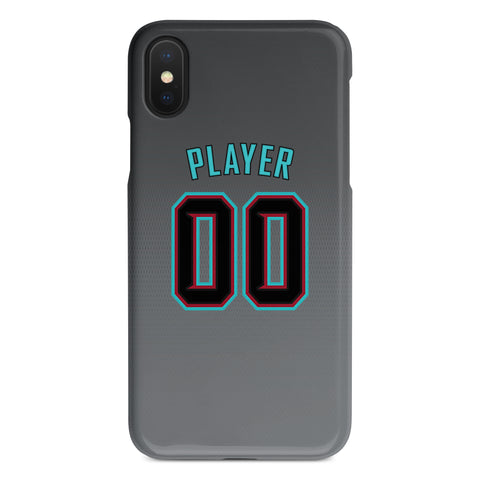 Arizona Diamondbacks Grey Alternate Jersey Phone Case