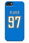 Los Angeles Chargers Alternate Jersey Phone Case