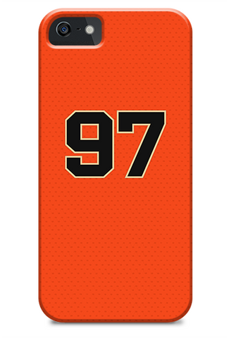 San Francisco Giants Custom Orange Alternate Jersey Phone Case