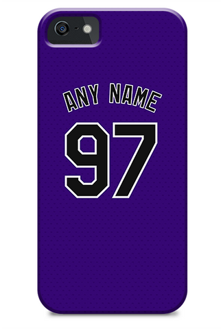 Colorado Rockies Custom Purple Alternate Jersey Phone Case