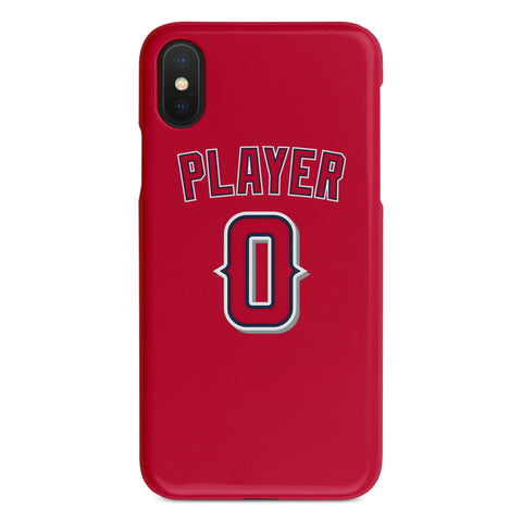 Los Angeles Angels Red Alternate Jersey Phone Case