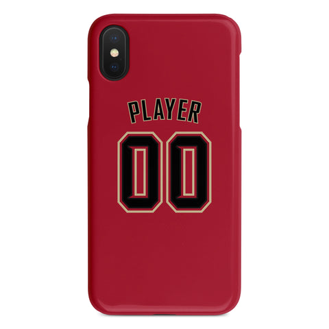 Arizona Diamondbacks Red Alternate Jersey Phone Case