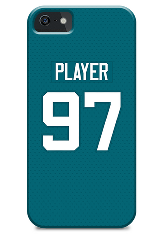 Jacksonville Jaguars Alternate Jersey Phone Case