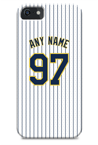 Milwaukee Brewers Custom Throwback Jersey Phone Case