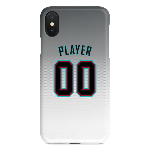 Arizona Diamondbacks White Alternate Jersey Phone Case