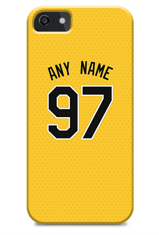 Pittsburgh Pirates Custom Alternate Yellow Jersey Phone Case