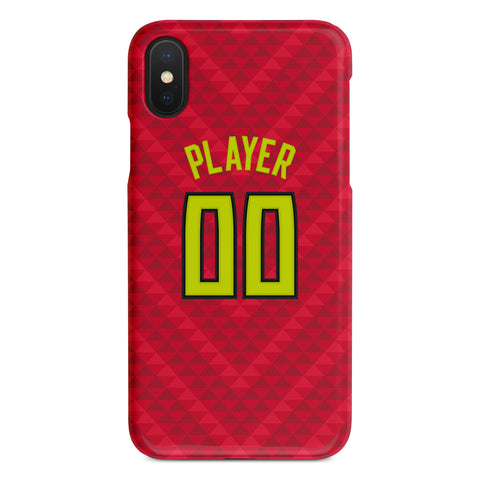 Atlanta Hawks Statement Jersey Phone Case