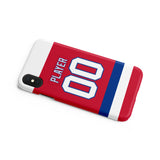 Washington Capitals Alternate Jersey Phone Case