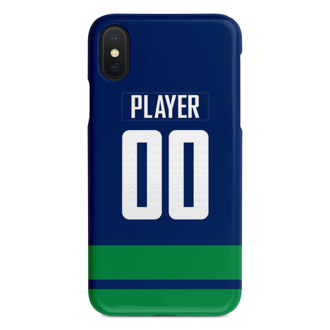 Vancouver Canucks Alternate Jersey Phone Case