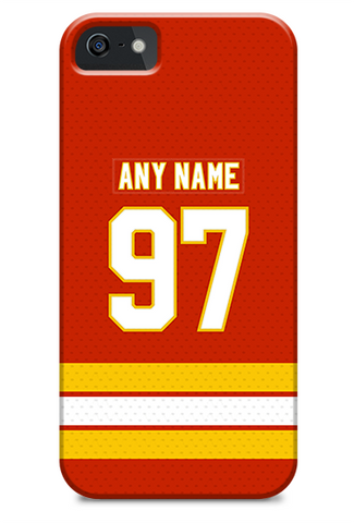 Calgary Flames Alternate Jersey Phone Case