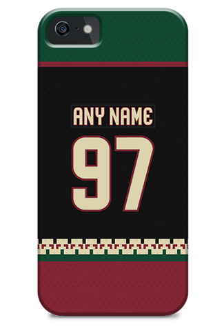 Arizona Coyotes Alternate Jersey Phone Case