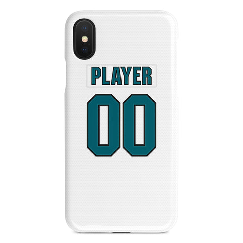 San Jose Sharks Away Jersey Phone Case