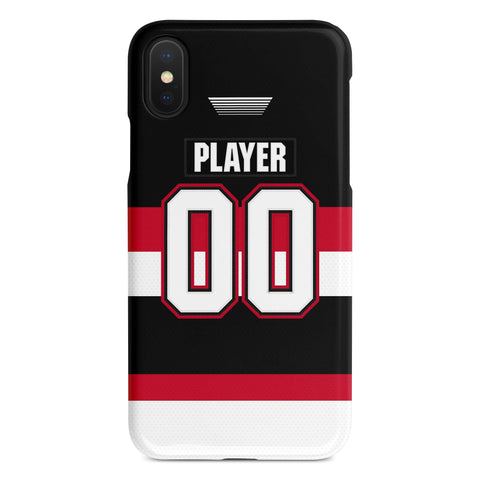 Belleville Senators Away Jersey Phone Case