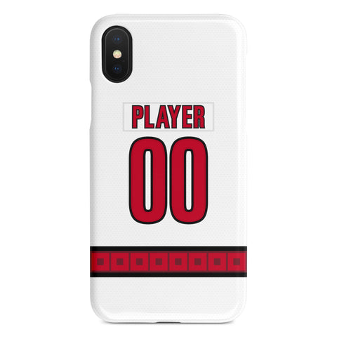 Carolina Hurricanes Away Jersey Phone Case