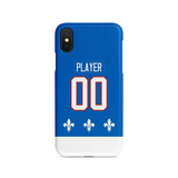Quebec Nordiques 91-95 Away Jersey Phone Case