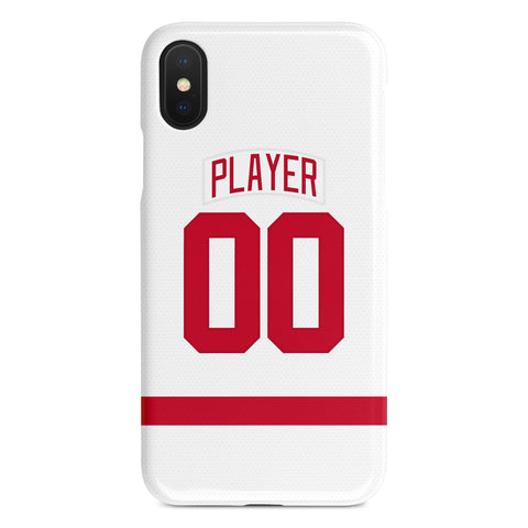 Detroit Red Wings Away Jersey Phone Case
