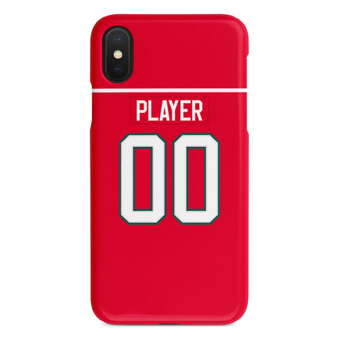 Halifax Mooseheads Away Jersey Phone Case