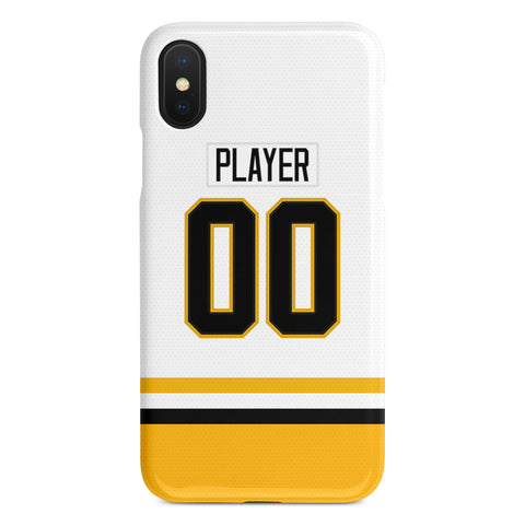 Pittsburgh Penguins Away Jersey Phone Case