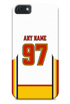 Calgary Flames Away Jersey Phone Case