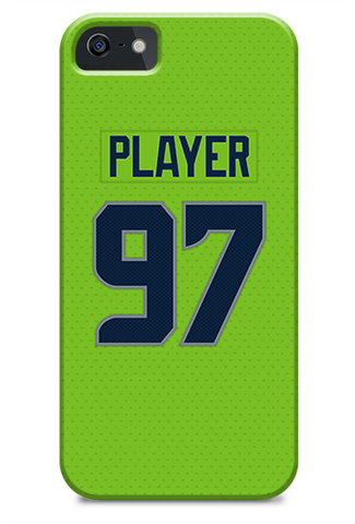 Seattle Seahawks Alternate Jersey Phone Case