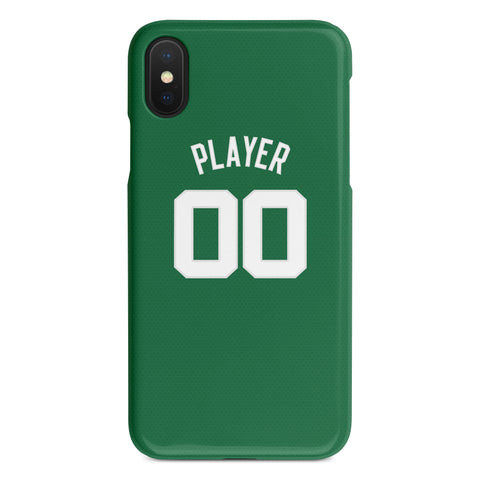 Boston Celtics Icon Jersey Phone Case