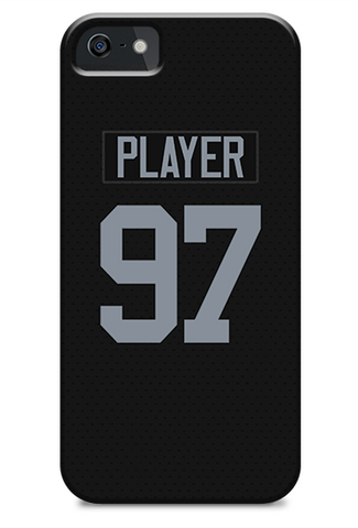 Oakland Raiders Home Jersey Phone Case