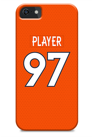 Denver Broncos Home Jersey Phone Case