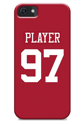 San Francisco 49ers Home Jersey Phone Case