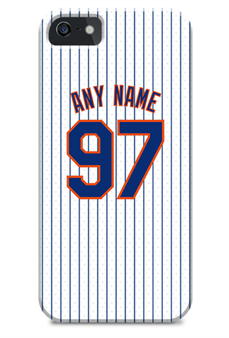 New York Mets Custom Home Jersey Phone Case