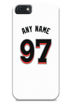 Miami Marlins Custom Home Jersey Phone Case