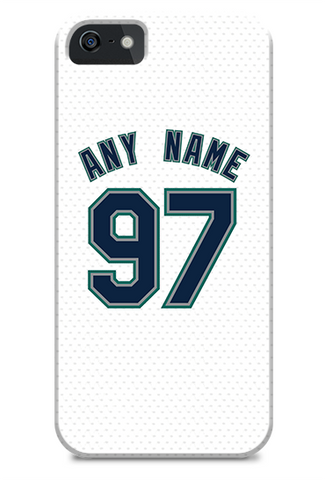 Seattle Mariners Custom Home Jersey Phone Case