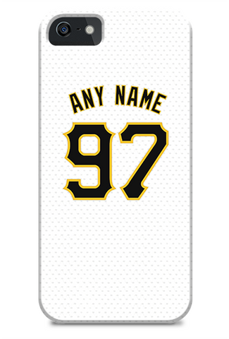 Pittsburgh Pirates Custom Home Jersey Phone Case