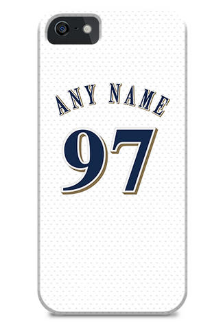 Milwaukee Brewers Custom Home Jersey Phone Case