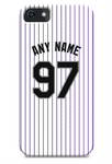 Colorado Rockies Custom Home Jersey Phone Case
