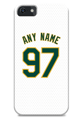 Oakland Athletics Custom Home Jersey Phone Case