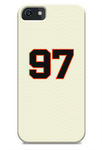 San Francisco Giants Custom Home Jersey Phone Case