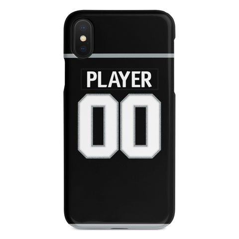 Los Angeles Kings Home Jersey Phone Case