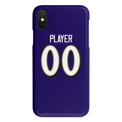 Baltimore Ravens Home Jersey Phone Case