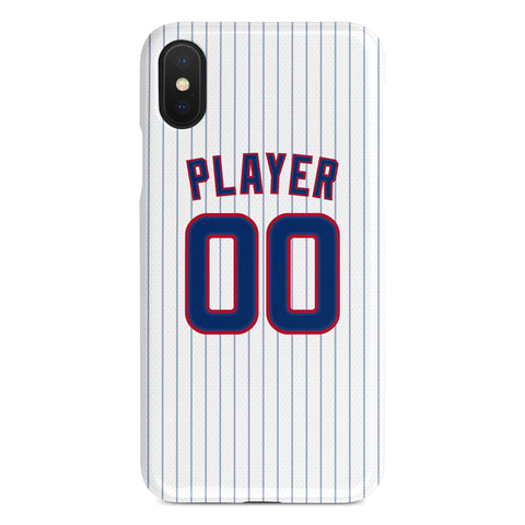 Chicago Cubs Home Jersey Phone Case